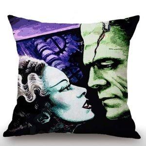 Bride of Frankenstein Thriller Pillow Case Cover
